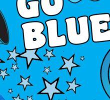 Color War- Blue  Sticker