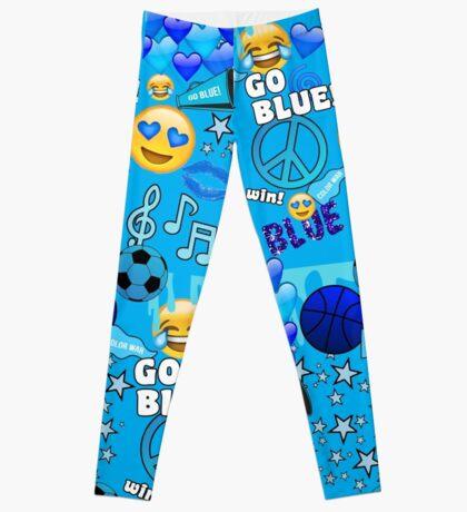 Color War- Blue  Leggings