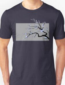 Sakura Blue v2 - Adjusted for darker colors Unisex T-Shirt