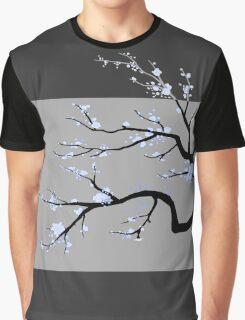 Sakura Blue v2 - Adjusted for darker colors Graphic T-Shirt