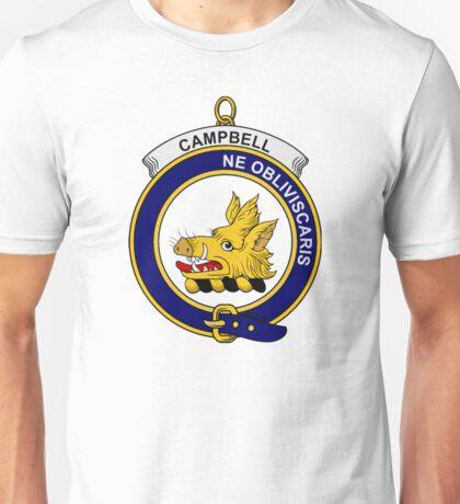 Campbell Clan Badge Unisex T-Shirt