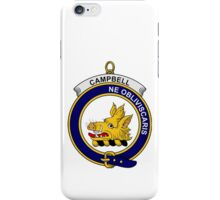 Campbell Clan Badge iPhone Case/Skin