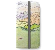 The mountain peaks color iPhone Wallet/Case/Skin