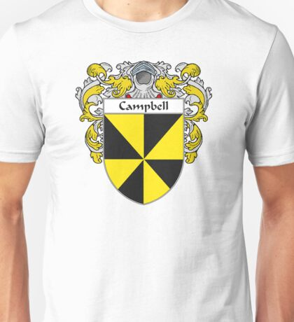 Campbell Coat of Arms/Family Crest Unisex T-Shirt