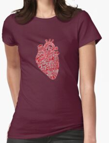Lonely hearts Womens Fitted T-Shirt
