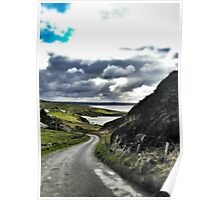 Beautiful Irish Afternoon in Donegal Poster