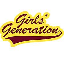 Girls' Generation Oh! Logo Photographic Print