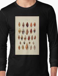Thesaurus conchyliorum Monographs of genera of shells George Brettingham Sowerby 1887 V1-V5 470 Long Sleeve T-Shirt