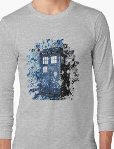 Blue Box Dispersion Long Sleeve T-Shirt