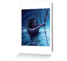 Captain Emma Swan Greeting Card