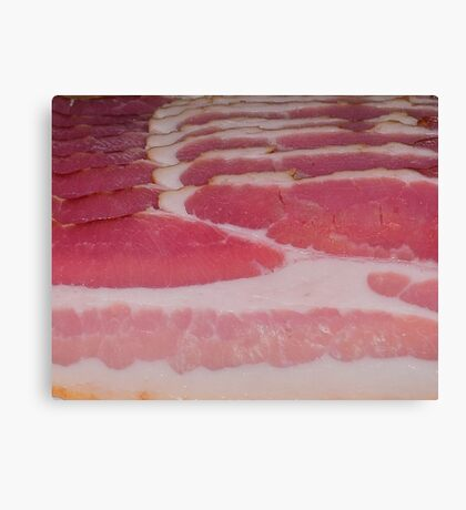 BACON-2 Canvas Print