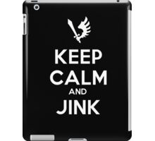 Keep Calm and Jink iPad Case/Skin