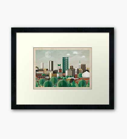 This Green City Framed Print