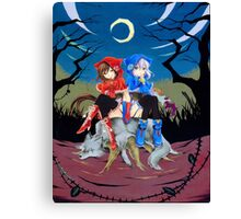 Alice & Abyss (Pandora Hearts) Canvas Print