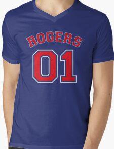 Rogers 01 Mens V-Neck T-Shirt