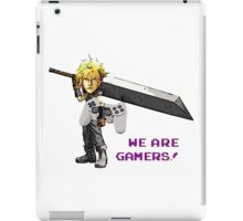 Inspired by Cloud of Final Fantasy VII  iPad Case/Skin