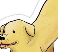 Golden Retreiver Sticker