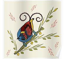 'Bird of Paradise' Poster