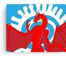 Signed & Limited Edition: Annoth the Warrior Dragon Canvas Print