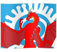 Signed & Limited Edition: Annoth the Warrior Dragon Poster