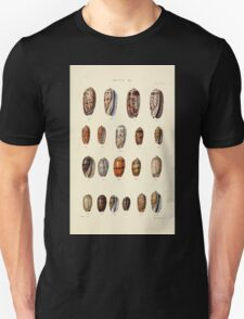 Thesaurus conchyliorum Monographs of genera of shells George Brettingham Sowerby 1887 V1-V5 444 Unisex T-Shirt
