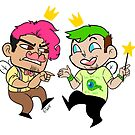 Fairyplier and JackSeptifairy by RileyOMalley