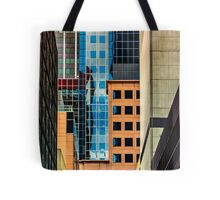 Melbourne Cityscape by Gaye G Tote Bag