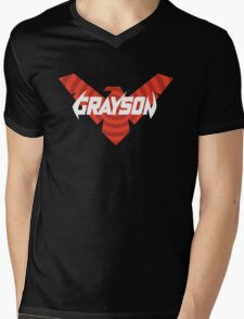 Grayson Agent of Spyral Mens V-Neck T-Shirt