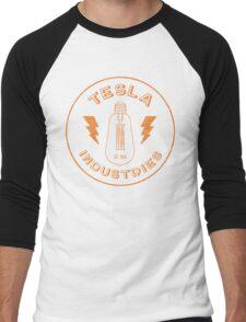 Tesla Industries Men's Baseball ¾ T-Shirt