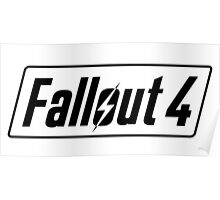 Fallout 4 Logo | High Quality Poster