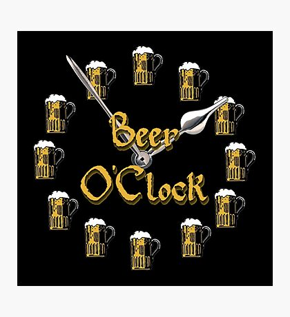 Beer O'Clock Photographic Print