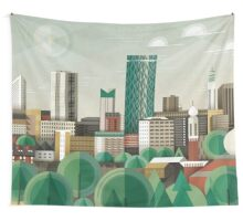 This Green City Wall Tapestry