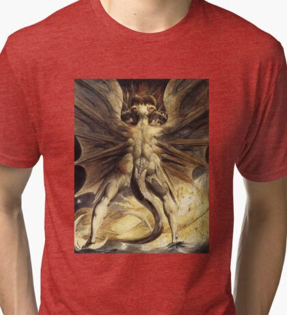 The Great Red Dragon - Hannibal Tri-blend T-Shirt