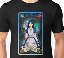 Alice Madness Returns Tarot Card Unisex T-Shirt