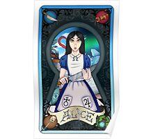 Alice Madness Returns Tarot Card Poster