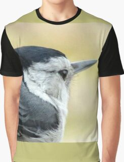 White-breasted Nuthatch (Sitta carolinensis) Graphic T-Shirt