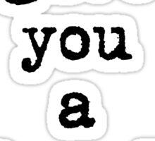 Amumu Quote Sticker