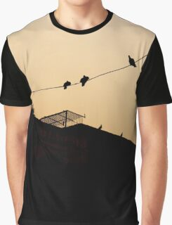 Out on the Line Graphic T-Shirt