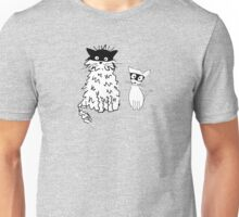 Cat superheroes Unisex T-Shirt