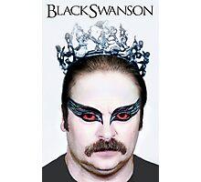 Black Swanson Photographic Print