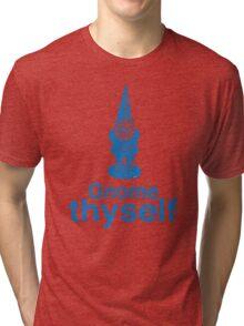Gnome Thyself Tri-blend T-Shirt