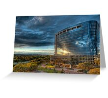 Office Building in Texas Greeting Card