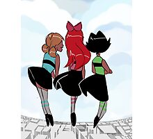 The Powerpuff Girls Photographic Print
