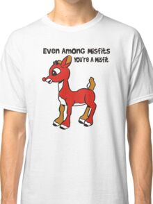 Rudolph The Red Nosed Reindeer Misfit Classic T-Shirt