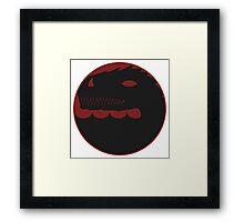 Dragon Circle Framed Print