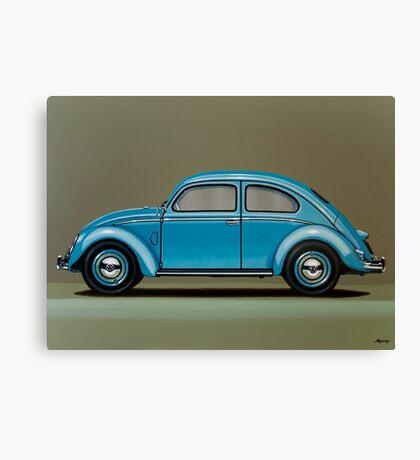 Volkswagen Beetle Painting Canvas Print