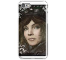 Cat Woman in training  iPhone Case/Skin