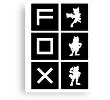 """""""I'm A Fox Main"""" Design Canvas Print"""