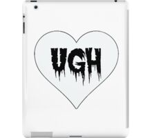 Lovely 'Ugh' iPad Case/Skin