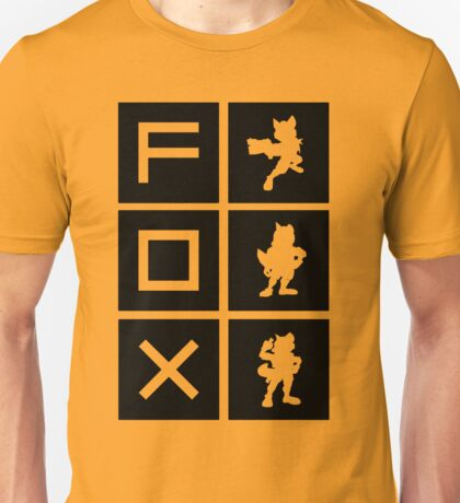 """I'm A Fox Main"" Design Unisex T-Shirt"